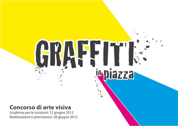 Segnalazione concorso GRAFFITI IN PIAZZA
